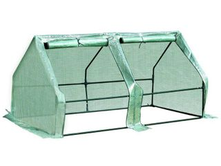 Outsunny Outdoor Portable Flower Plant Garden Greenhouse Kit