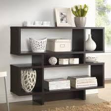 Porch   Den Hanalei Dark Brown Modern Multiple Storage Shelf  Retail 136 49 espresso