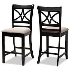Copper Grove Aileur 2 piece Counter height Pub Chair Set  Retail 121 99