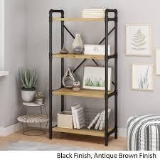Greenwood iron bookcase by Christopher knight