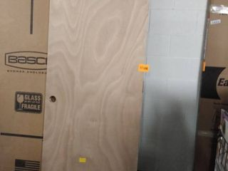 wood door right hand swing 30 inch