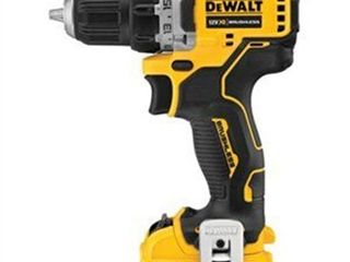 DeWalt XTREME 12V MAX 12 volt Brushless Cordless Compact Drill Driver Kit 3 8 in  1500 rpm   Case Of  1