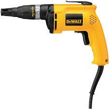 dewalt dw255 bar drywall screwdriver