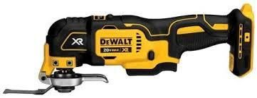 dewalt 20v max xr cordless oscillating multi tool used