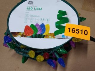 Ge Energy Smart 150 count C6 49 6 ft Multi color led Christmas String lights