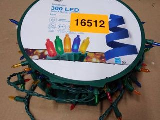 GE StayBright 300 Count 74 5 ft Multicolor led Plug In Christmas String lights 91095lO