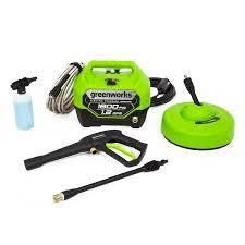 Greenworks Gpw1804ck 1800 psi 1 1 gpm Cold Water Electric Pressure Washer