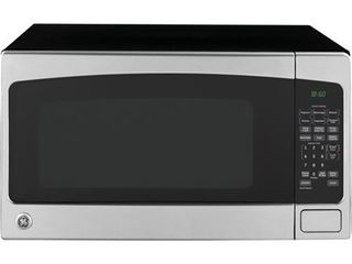 GE 2 0 cu  ft  Countertop Microwave Oven  Stainless