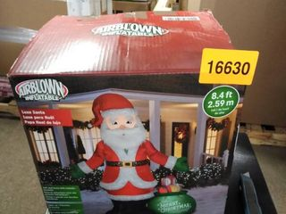 airblown inflatable luxe santa