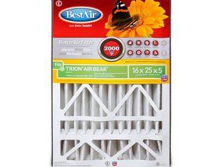 BestAir AB1625 Trion Air Bear Pleated Filter 16x25x5