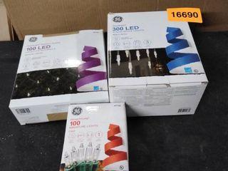 christmas lights 3 boxes