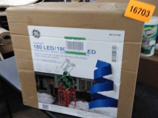 ge staybright 180 led stacked gift boxes