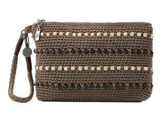 The Sak Sayulita Crochet Wristlet Vegan Retail   59 00