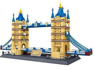 United Kingdom  Tower Bridge of london England Building Blocks 1033 pcs Set World s Great Architecture Series