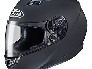 HJC Helmets 130 615 CS R3 Unisex Adult Full Face Matte Motorcycle Helmet  Matte Black  X large