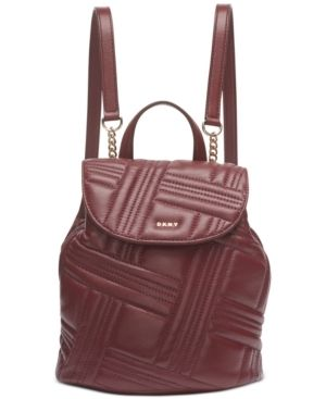 Dkny Allen Small Flap Backpack Retail   228 00