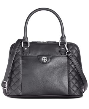 Giani Bernini Quilted Dome Satchel Retail   69 99