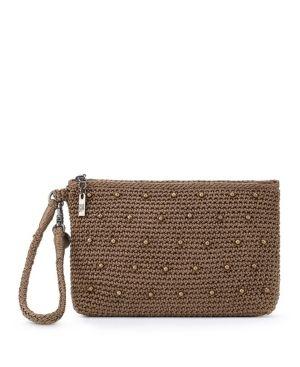 The Sak Sayulita Crochet Wristlet Retail   59 00