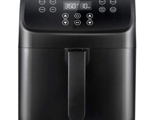 Comfee  5 8qt Digital Air Fryer  Toaster Oven   Oilless Cooker  1700w With 8 led