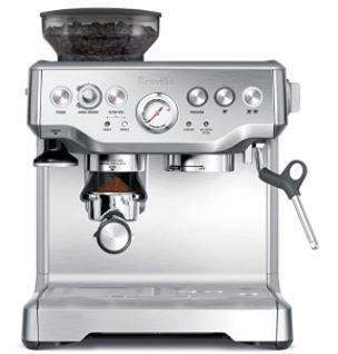 Breville BES870Xl Barista Express Espresso Machine  large  Stainless Steel Retail   699 99
