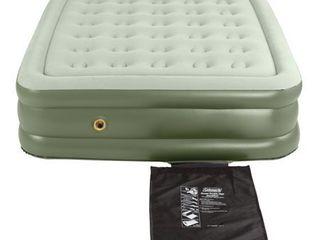 Coleman Indoor or Outdoor Double High Support Rest Air Mattress  Queen