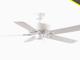 Harbor Breeze Classic White Ceiling Fan Bdb52lw5n Frosted Shade Glass Globe