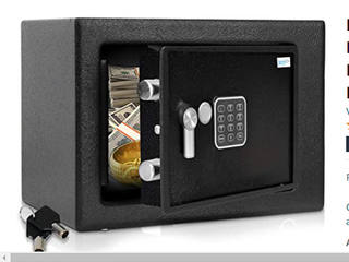 Serenelife SlSFE15   Electronic Home Safe