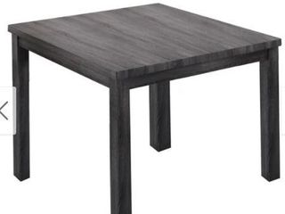 Best Master Furniture Square 36 x 36 Counter Height Rustic Table Retail 192 49