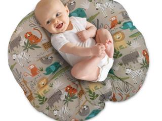 Boppy Infant Pillow   Beige Animal Print