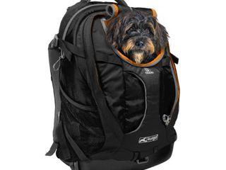Kurgo Dog G Train K9 Black Backpack  3 14 lBS