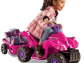 Huffy Renegade Ride On Car Pink Purple