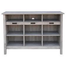Grey Wood  Hart 9 Cubby Storage Cabine Inspirations t  Retail 207 99
