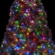 Multi color lED christmas tree Retail 393 49