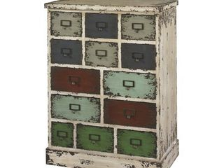 Powell Parcel 13 Drawer Cabinet  Retail 285 99