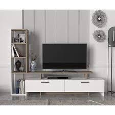Simal TV Unit White Beige  Retail 159 99
