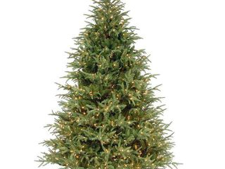 Frasier Grande Hinged 7 5 foot Tree with 1000 Clear lights  Retail 487 99