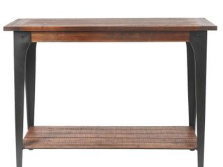 Wood and Metal Console and Entryway Table  Retail 133 99