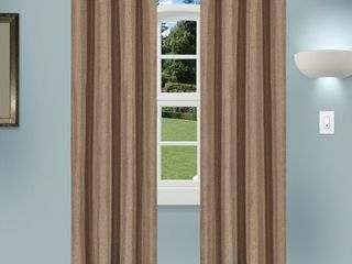 52  x 108    Acorn  Superior linen Insulated Thermsl Blackouf Grommet Curtain Panel Pair