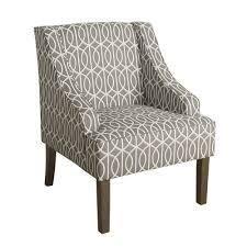 Porch   Den Cammy Swoop Arm Accent Chair  Retail 152 49 grey