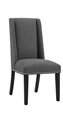 Baron Dining Chair Fabric gray 1 only