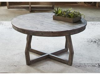 The Gray Barn Rosings Park Grey Wash Cocktail Table  Retail 351 99