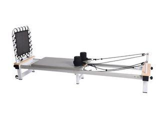 aeropilates precision series reformer 610 with cardio rebounder grey and white Portable  Retail 999 00
