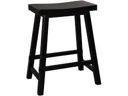 liberty furniture 24 inch rta sawhorse barstool black