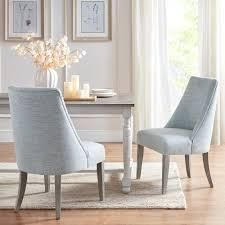 Martha stewart winfield light blue dining chairs set of 2 Set of 2   Short   16 22 in  Retail 485 99