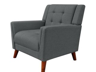 Candace Mid century Modern Armchair by Christopher Knight Home  Retail 244 99 dark grey