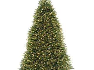 Null9 ft powerconnect dunhill fir tree with clear lights Retail 481 49