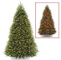Null 10 ft powerconnect dunhill fir tree with color led lights Retail 779 99
