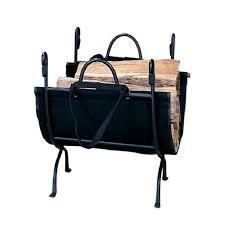 Null blue rhino black cast iron deluxe log holder Retail 98 99