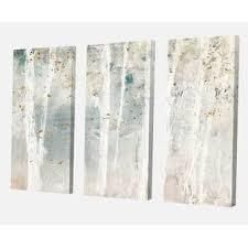 Designart Woodland Walk into the Forest VII 60 x 40 Canvas