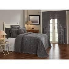 Bedspread and Curtain Set   Better Trends Double Wedding Ring Collection   Design